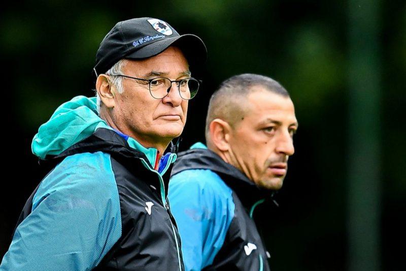Sampdoria sesta in classifica con Ranieri in panchina