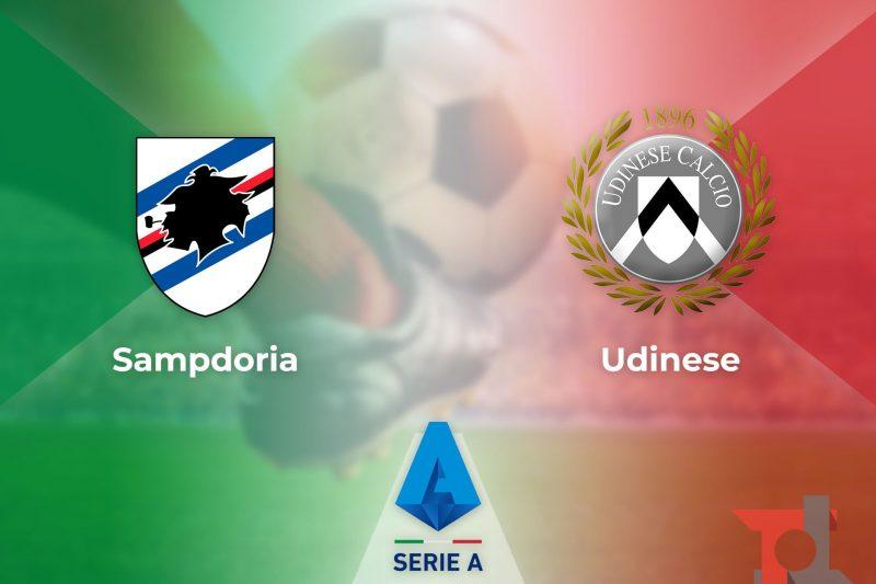 Pre-partita e diretta di Sampdoria-Udinese