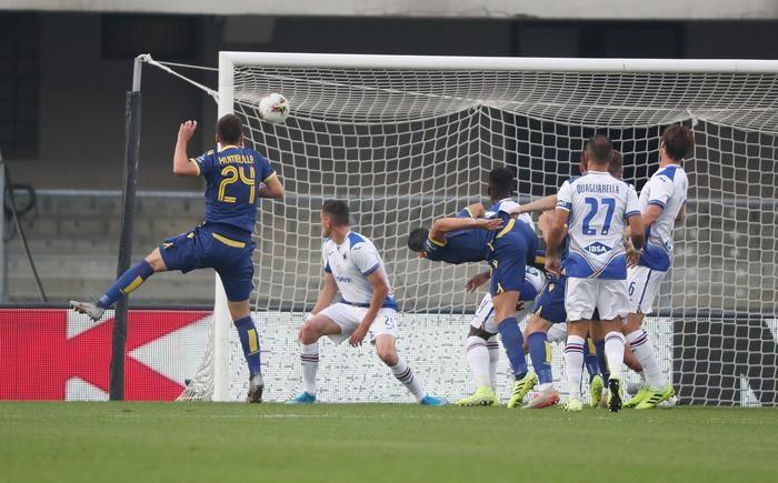 Hellas Verona-Sampdoria 2-0