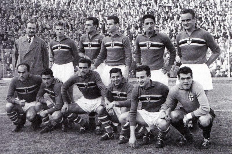 Precedenti di Sampdoria-Juventus (1946-1959)