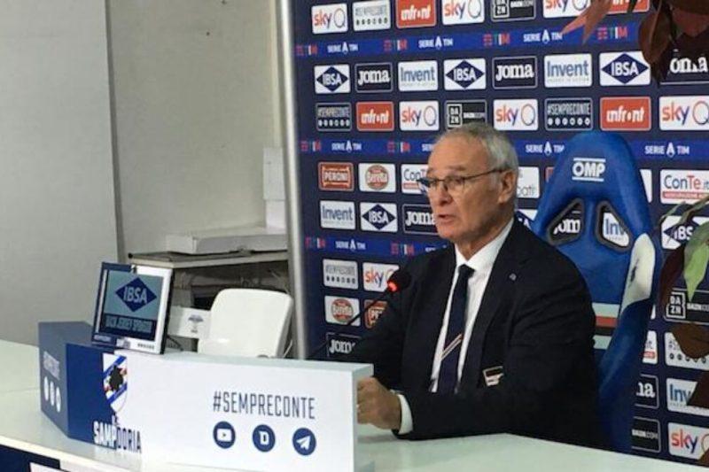 Sampdoria-Sassuolo, conferenze stampa e formazioni