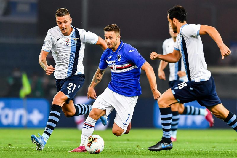 Lazio-Sampdoria: conferenze e probabili formazioni
