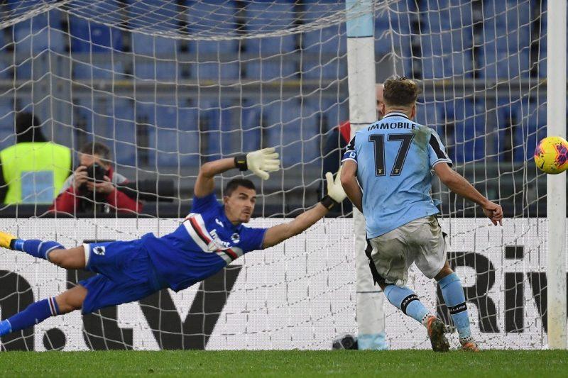 Serie A 2019/20: Lazio-Sampdoria 5-1