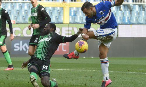 Sampdoria-Sassuolo 0-0, commento e pagelle