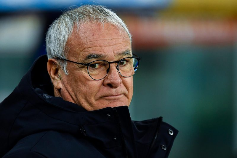 La classifica con Claudio Ranieri: Samp 11°
