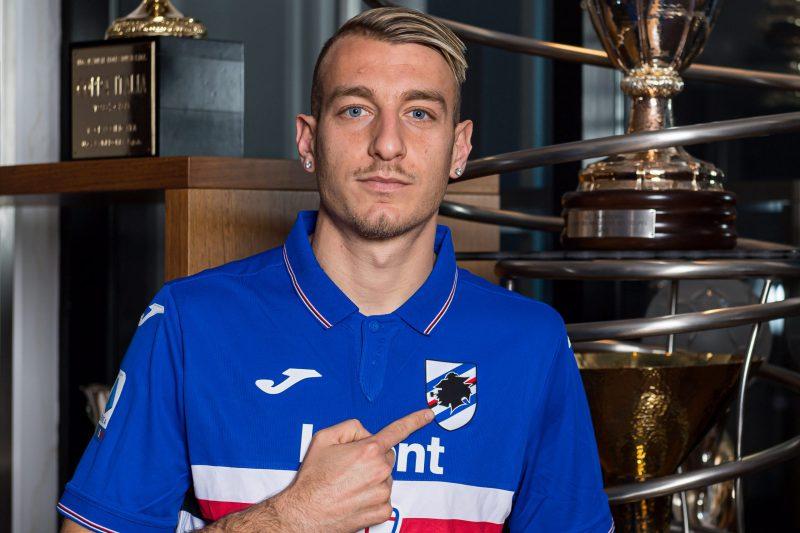 Antonino La Gumina alla Sampdoria (a titolo definitivo)