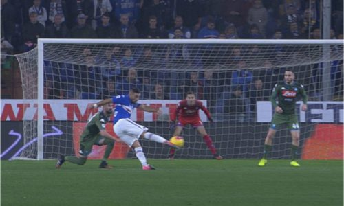 Sampdoria-Napoli 2-4, commento e pagelle