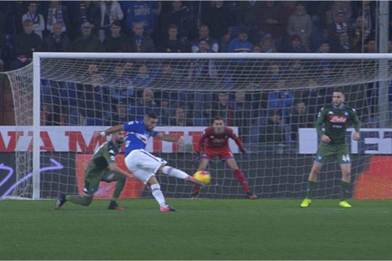 Serie A 2019/20: Sampdoria-Napoli 2-4