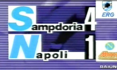 Precedenti di Sampdoria-Napoli (1980-1999)