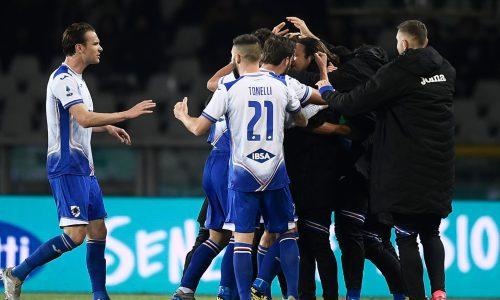 Torino-Sampdoria 1-3, tabellino e classifica