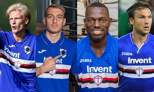 COVID-19: positivi altri giocatori e medico della Sampdoria