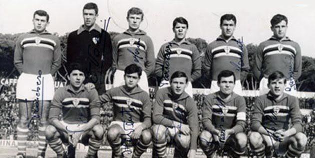 Sampdoria – Partite ufficiali 1957/58