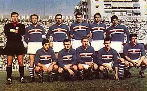 Sampdoria – Partite ufficiali 1962/63