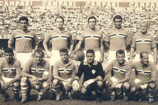 Sampdoria – Partite ufficiali 1961/62