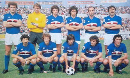 Sampdoria – Stagione 1981/82