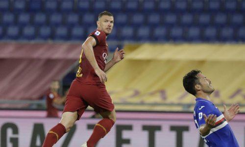 Roma-Sampdoria 2-1: video di azioni ed interviste