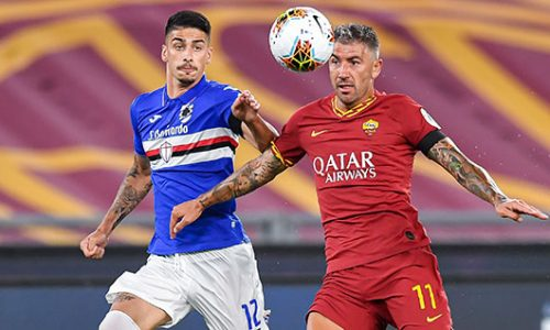 Roma-Sampdoria 2-1: tabellino e classifica
