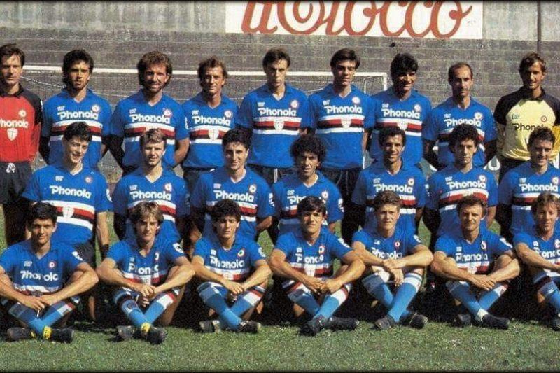 Sampdoria – Stagione 1985/86