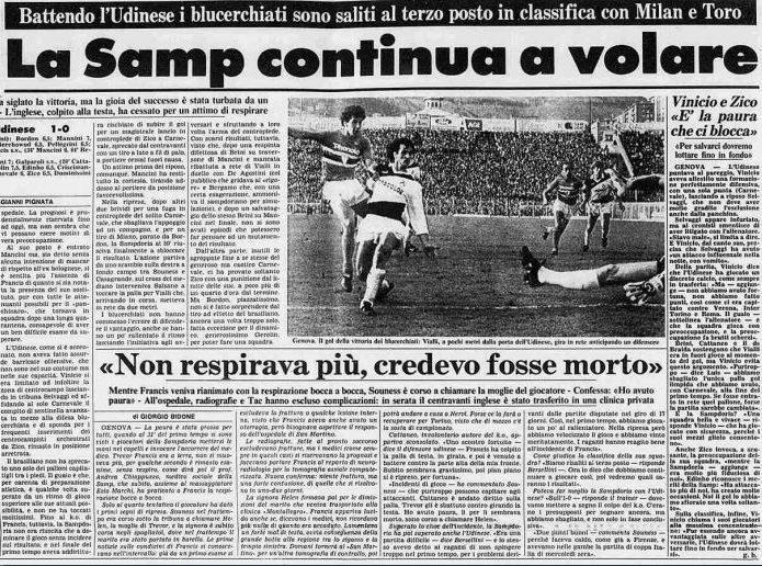 Serie A 1984/85: Sampdoria-Udinese 1-0