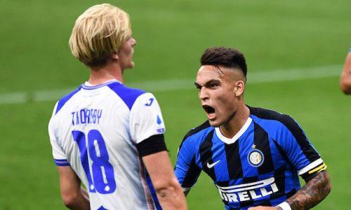 Inter-Sampdoria 2-1: Tabellino e Classifica