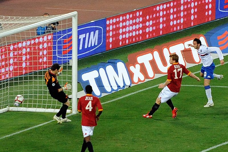Precedenti di Roma-Sampdoria (2000-2019)
