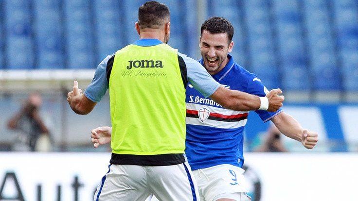 Sampdoria-Cagliari 3-0: video di azioni e interviste