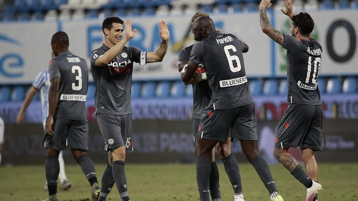 Analisi sull'Udinese (prossima avversaria)