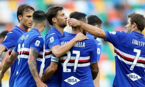 Udinese-Sampdoria 1-3: commento e pagelle