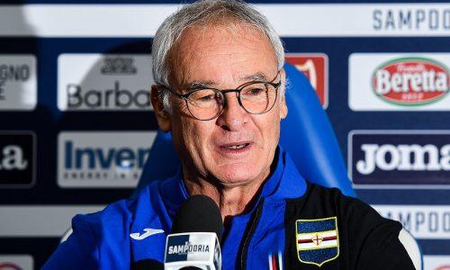 Sampdoria al nono posto con Claudio Ranieri