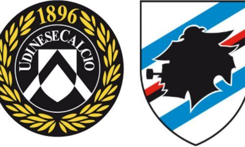 Udinese-Sampdoria: conferenze e formazioni ufficiali