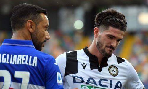 Udinese-Sampdoria 1-3: video di azioni e interviste