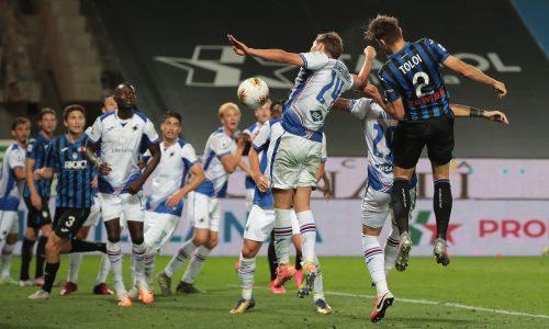 Atalanta-Sampdoria 2-0: commento e pagelle
