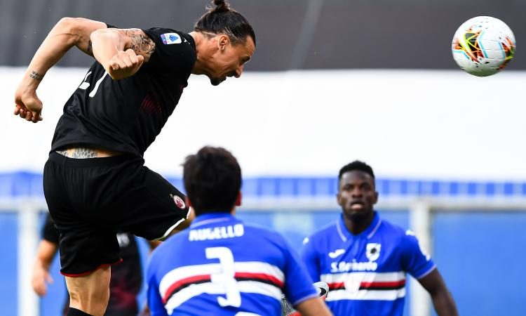 Sampdoria-Milan 1-4: commento e pagelle