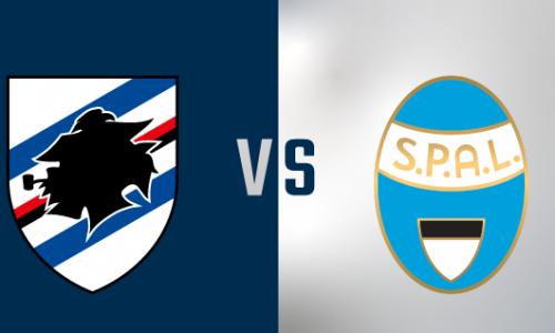 Sampdoria Spal: conferenze e formazioni ufficiali