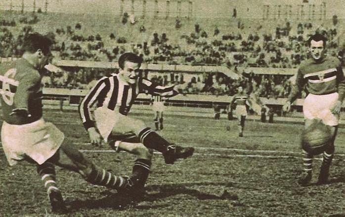 Precedenti di Juventus-Sampdoria (1946-1959)