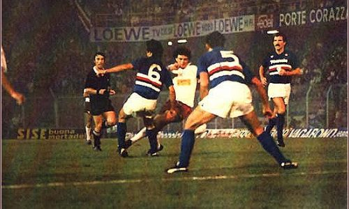 Sampdoria – Partite 1985/86 (Ottobre-Novembre)