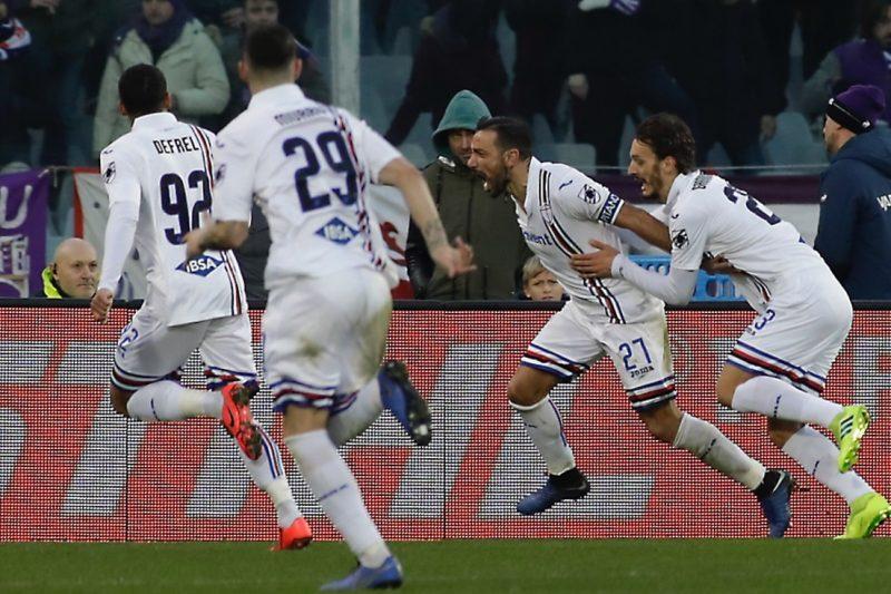 Precedenti di Fiorentina-Sampdoria (2000-2020)