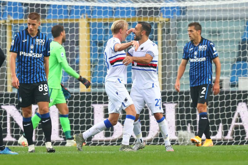 Atalanta-Sampdoria 1-3: video di azioni e inteviste
