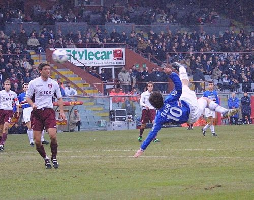 Serie B 2001/02: Sampdoria-Salernitana 2-1
