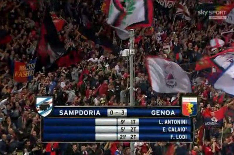 Serie A 2013/14: Sampdoria-Genoa 0-3