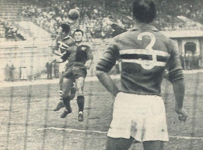 Coppa Italia 1958: Genoa-Sampdoria 1-3