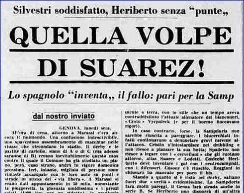 Coppa Italia 1971/72: Sampdoria-Genoa 1-1