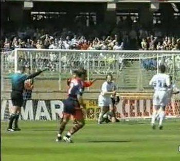 Serie A 1996/97: Cagliari-Sampdoria 3-4