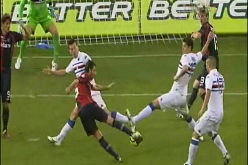 Serie A 2009/10: Cagliari-Sampdoria 2-0