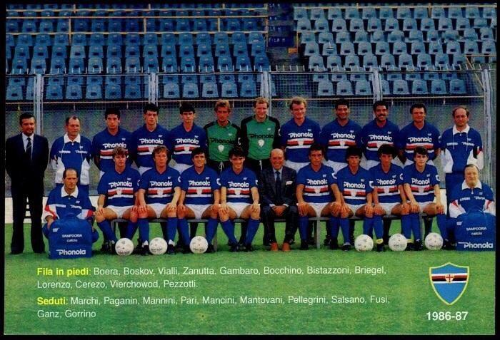 Sampdoria – Stagione 1986/87