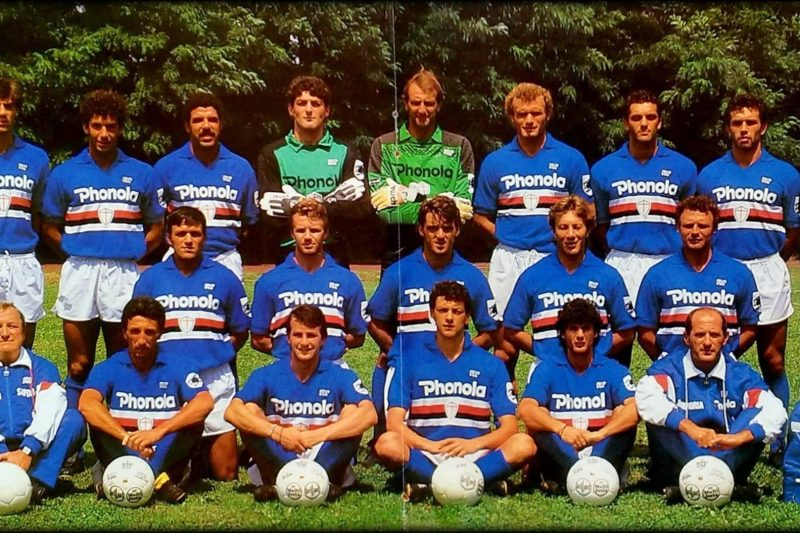 Sampdoria – Stagione 1987/88