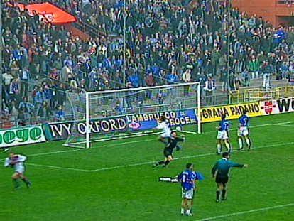 Serie A 1996/97: Sampdoria-Bologna 1-2