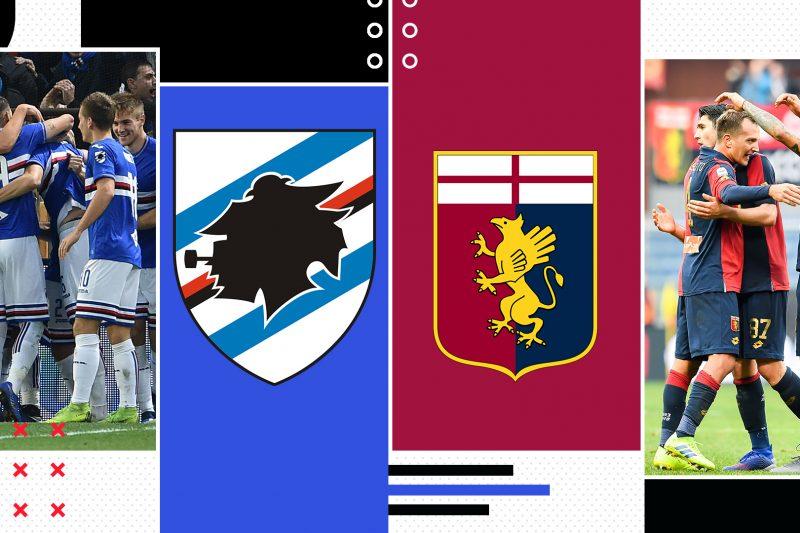 Sampdoria-Genoa: conferenze e probabili formazioni