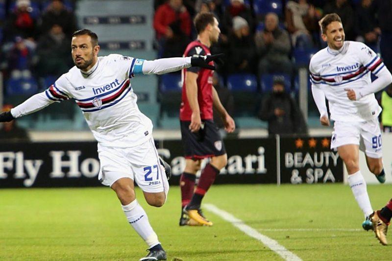 Serie A 2017/18: Cagliari-Sampdoria 2-2