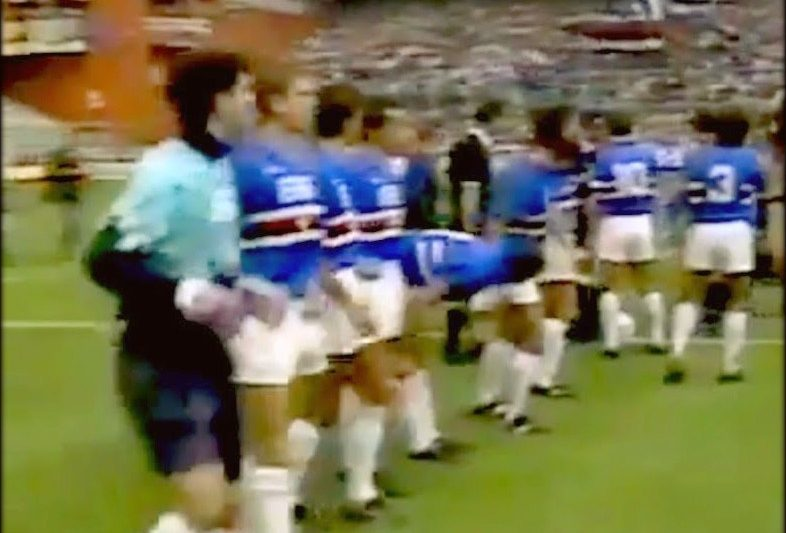 Serie A 1990/91: Sampdoria-Bologna2-1